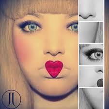 creepy doll makeup