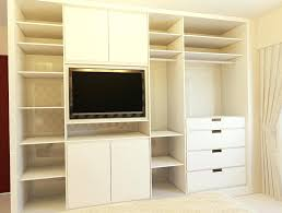 wonderful in bedroom closet design ideas bedroom decorating ideas with tv
