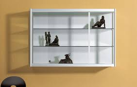 myriad of wall mounted shelves