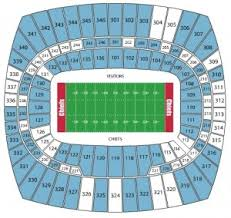Arrowhead Seating Map Rams Seating Chart With Seat Numbers