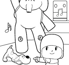 Pocoyo Coloring Pages Online Pocoyo Coloring Pages Coloring Pages