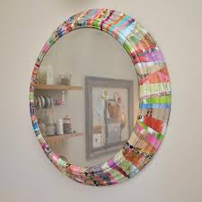diy painted mirror frame. Diy Mirror. What To Do With Your Leftover Paint Pat Mcdonnell Paints Painted Mirror Frame