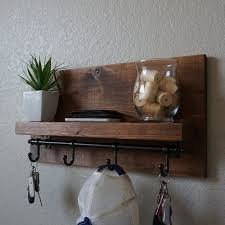 Image Manzanola Image Etsy Modern Rustic Entryway Coat Rack Shelf With Dark Bronze Rail Etsy
