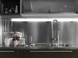 building a stainless steel kitchen back splash