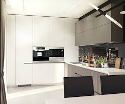 black and white kitchen set 4 1 contemporary style interior design kitchen set black and white