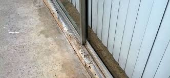 gallery of sliding screen door track for top close up of bottom track if you have this tracking you dont need