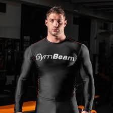 Компрессионная <b>футболка</b> Black/White - Gym <b>Beam</b>