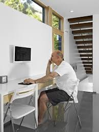 wall mounted home office. exellent office edmonton wall mount desk home office modern with workspace gray standard  bookcases wallmounted computer screen and wall mounted home office n