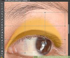 image led apply makeup in adobe photo cs3 step 5