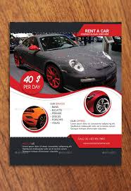 Car Flyer Template Rent A Car Flyer Template by CreativeMoon GraphicRiver 1