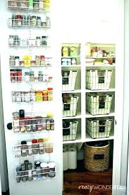 over door shelves for pantry storage baskets the system makeover 2 little closet doors pantr over door pantry organizer