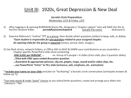 the americans chapters history alive chapters ppt  unit iii 1920s great depression new deal