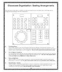 Seating Chart Maker For Teachers High School Classroom Seating Chart Template Class Maker
