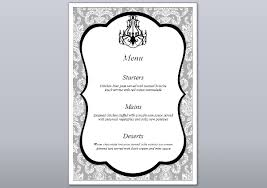 Formal Dinner Menu Template Classy 48 Engagement Party Menu Templates PSD AI Free Premium Templates