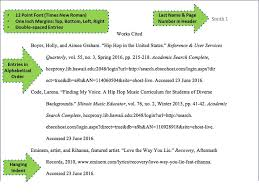 Work Cited Works Cited Page Mla Subject Guides At Cuyahoga