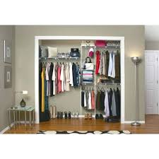 shelftrack 7 ft 10 ft white wire closet organizer kit wall units best closet organizer home