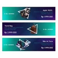 Desain Banner Vanoiht Desain Toko Store Builder Design Banner 3 Banners Template Bold Theme 1200x300 Px