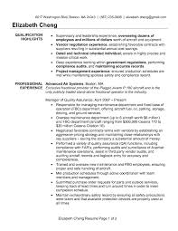 Sample Resume Supplier Quality Assurance New Impressive Sample