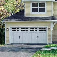 image of double garage door modern