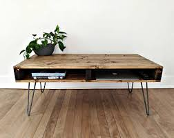 130 Inspired Wood Pallet ProjectsPallet Coffee Table With Hairpin Legs
