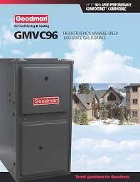 goodman 40000 btu furnace. goodman 96% two stage variable speed 60k btu gas furnace 4 ton gmvc960603bn 40000 btu