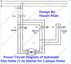 three phase star delta wiring diagram kanvamath org 3 phase star delta wiring diagram at 3 Phase Delta Wiring Diagram
