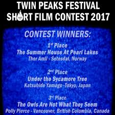 We are pleased to announce the winners... - Twinpeaksfest Shortfilmcontest  | Facebook