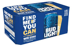 Bud Light Stock Market Symbol Bud Light Kicks Off The Golden Can Find Me If You Can