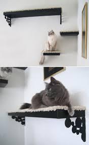 IKEA Hack Shelf Perch For Cats