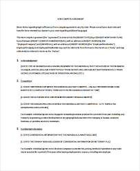 Vendor Non-Compete Agreement Template - 10+ Free Word, Pdf Documents ...