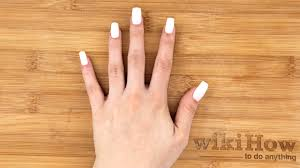 how to apply fake nails without glue