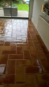 sealing porous spanish terracotta tiles in alderley edge
