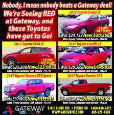 gateway ford toyota lincoln