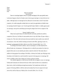 essay on same sex marriage argumentative essay on same sex marriage