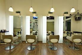 Simple Beauty Parlour Design Decorating Simple Hair Salon Design Ideas And Wooden Floor