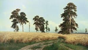 Сочинение описание картины И Шишкина Рожь  Богатство русской земли