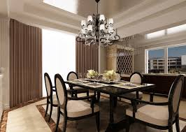 chandelier dining room
