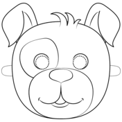 Masker Hond Kleurplaat Gratis Kleurplaten Printen