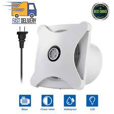 bathroom ventilation fan light air vent
