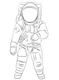 Buzz Aldrin Op De Maan Kleurplaat Gratis Kleurplaten Printen