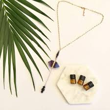 essential oil jewellery by oohlalava range necklace