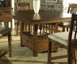 Kitchen Counter Height Tables Somerton Craftsman Counter Height Table 417 69t 417 69b