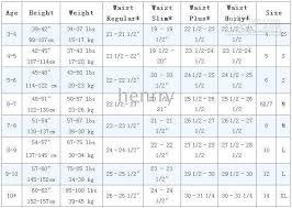 Boys Size Chart Database Size Chart For Boys
