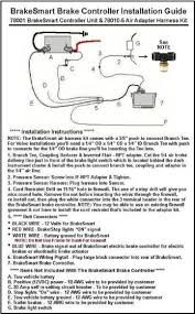 hayes brakesmart maxbrake controllers heavy haulers rv resource wiring diagram installation instructions required branch tee