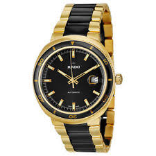 rado men s wristwatches new rado men s yellow gold r15961162 mechanical automatic d star 200 watch