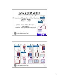 Design Of Crane Runway Beam With Channel Cap Aisc Design Guides By Imca Issuu