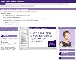In the last research assessment exercise, the 'quality. Studying Business Meet Your Academic Librarian Blogs Leeds Beckett University