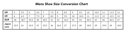 World Foot Size Chart Japanese Shoe Sizes Yohji Yamamoto Comme Des GarÇons And