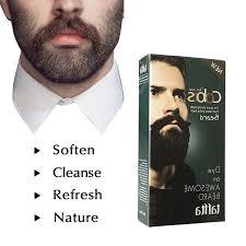 <b>BellyLady</b> Men Beard Dye Cream Fast <b>Color</b> Natural Black Beard ...