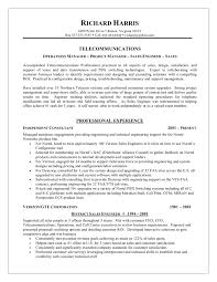 Telecom Resume Samples Telecommunication Resume shalomhouseus 1